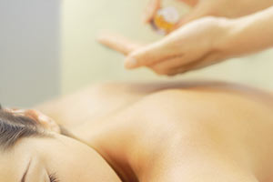 Aromatherapy Massage using essential oils from Perfect Potion
