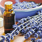Using Perfect Potion pure essential oils in aromatherapy massage