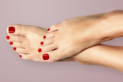 Foot Makeover Pedicure at Caloundra and Mooloolaba, professional treatment