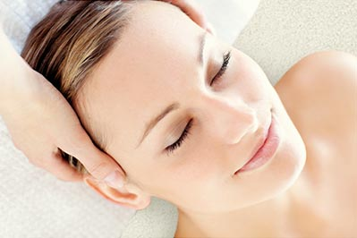 Pregnant womens day spa package, targeting discomfort in the back, neck, shoulders and feet. Includes a facial treatment.