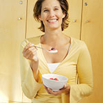 Easy Energisers for a boosted metabolism. Muesli, porridge, eggs, wholegrain/fruit toast or cereal with fruit are all good choices.