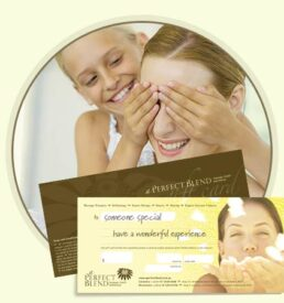 Massage and Beauty Treatments Gift Cards, Gifts Vouchers and Certificate
