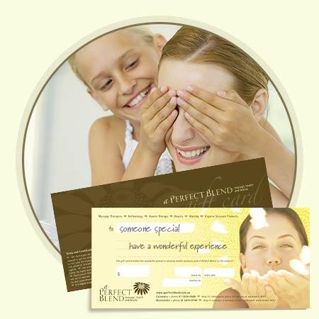 Facial gift certificates