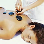 Experience deep relaxation with a Hot Stone Massage treatment, Caloundra, Mooloolaba, Currimundi, Kings Beach, Kawana, Pelican Waters, Wurtulla, Buderim, Alexander Headland and Maroochydore