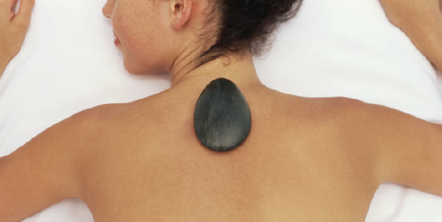 Our massage therapists can then really work their magic using Hot Stones, Sunshine Coast Australia
