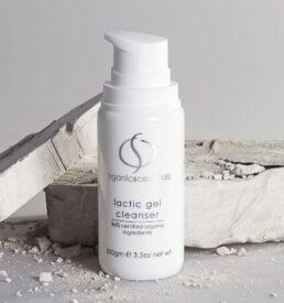 OrganicSpa Lactic Gel Cleanser, Certified Organic Skin Care Range