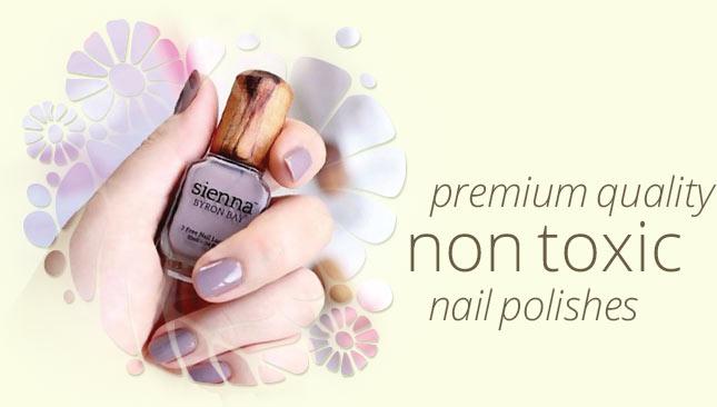 Sienna Non-Toxic Nail Polish from Byron Bay Australia