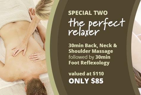 Massage and Foot Reflexology special offer!