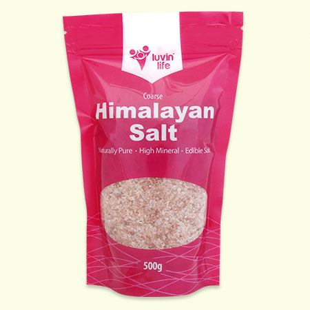 Himalayan edible rock salt - 500g Coarse